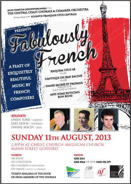 Fabulously French August 11, 2013 flyer